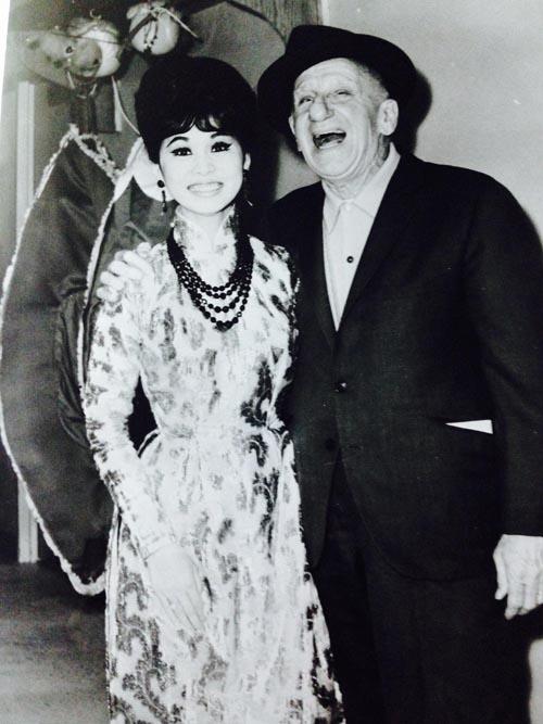 bach yen & jimmy durante 1965 LAS VEGAS
